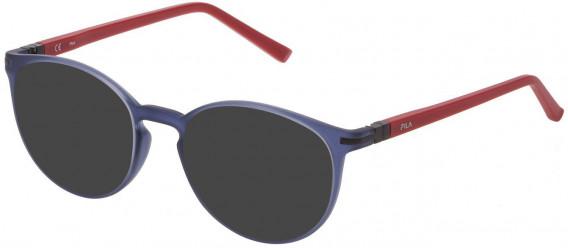 Fila VF9276 sunglasses in Matt Transparent Blue