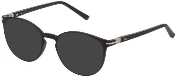 Fila VF9276 sunglasses in Matt Black