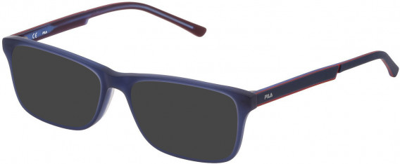 Fila VF9275 sunglasses in Matt Opal Blue