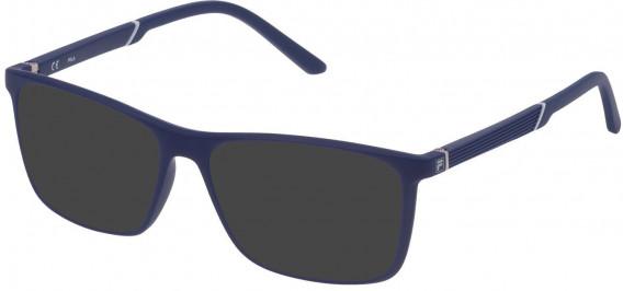 Fila VF9173 sunglasses in Matt Full Blue