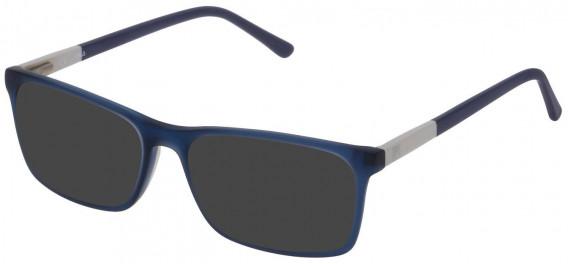Fila VF9171 sunglasses in Matt Transparent Blue