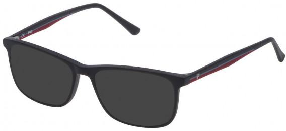 Fila VF9141 sunglasses in Dark Grey