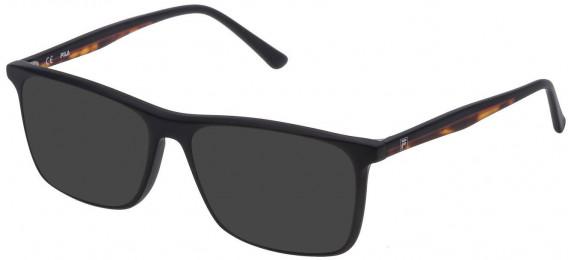 Fila VF9140 sunglasses in Matt/Sandblasted Black