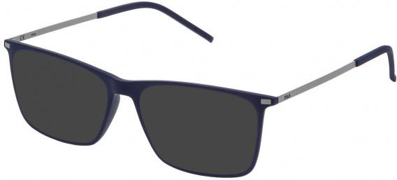 Fila VF9139 sunglasses in Matt Full Blue