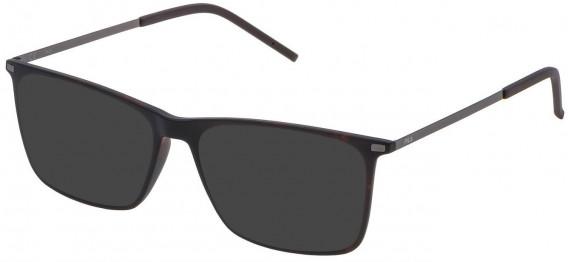 Fila VF9139 sunglasses in Matt Dark Havana