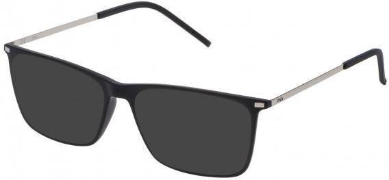 Fila VF9139 sunglasses in Matt Black