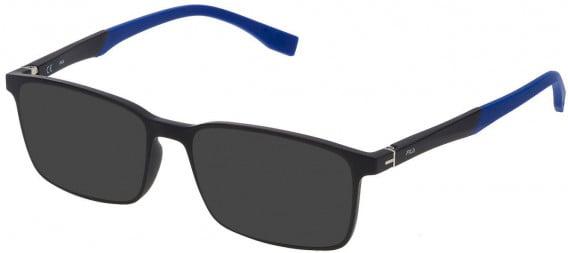 Fila VF9137 sunglasses in Matt Black