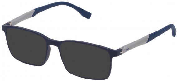 Fila VF9137 sunglasses in Matt Full Blue