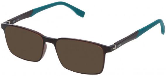 Fila VF9137 sunglasses in Transparent Brown