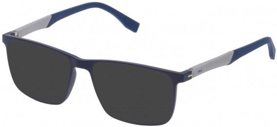 Fila VF9136 sunglasses in Matt Full Blue