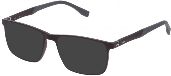 Fila VF9136 sunglasses in Matt Dark Plum