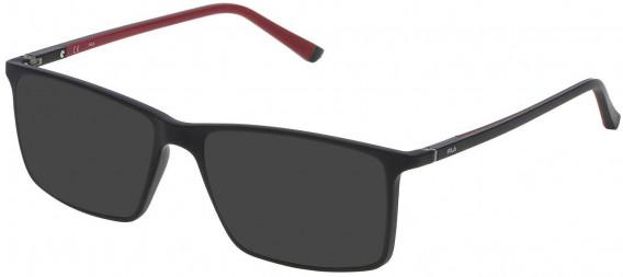 Fila VF9114 sunglasses in Matt Black