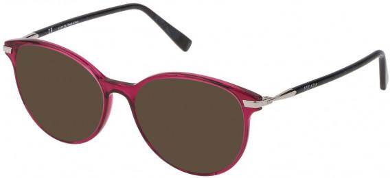 Escada VESA80 sunglasses in Shiny Transparent Cyclamen