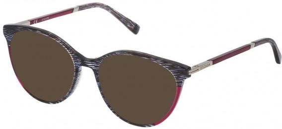 Escada VESA09 sunglasses in Shiny Striped Blue