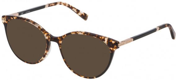 Escada VESA09 sunglasses in Shiny Brown-Yellow Havana