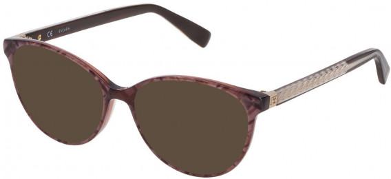 Escada VESA08 sunglasses in Shiny Pearl Grey/Beige