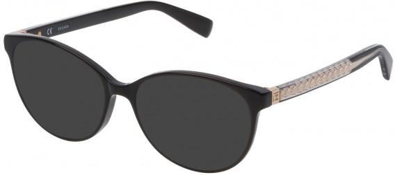 Escada VESA08 sunglasses in Shiny Black