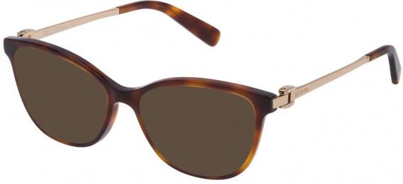 Escada VESA05T sunglasses in Shiny Dark Havana