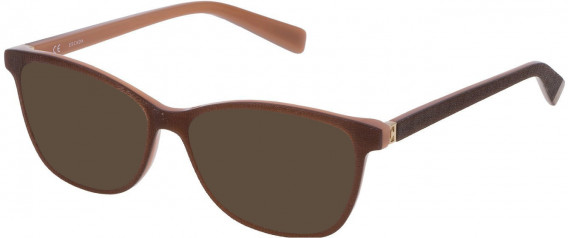 Escada VESA04 sunglasses in Brown Top/Opal Rose