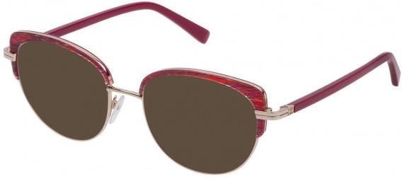 Escada VES953 sunglasses in Shiny Red Gold