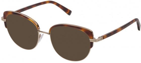 Escada VES953 sunglasses in Shiny Camel
