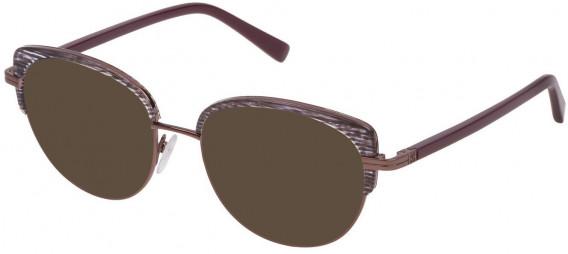 Escada VES953 sunglasses in Shiny Plum