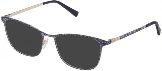 Escada VES949 sunglasses in Shiny Camel