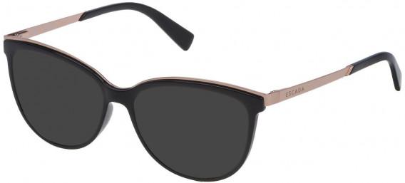 Escada VES945 sunglasses in Shiny Black