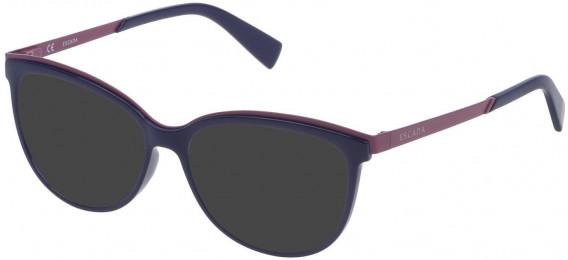 Escada VES945 sunglasses in Shiny Blue