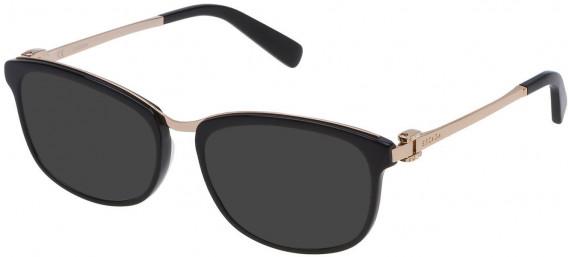 Escada VES943T sunglasses in Shiny Black