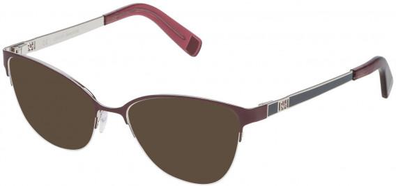 Escada VES921 sunglasses in Shiny Palladium