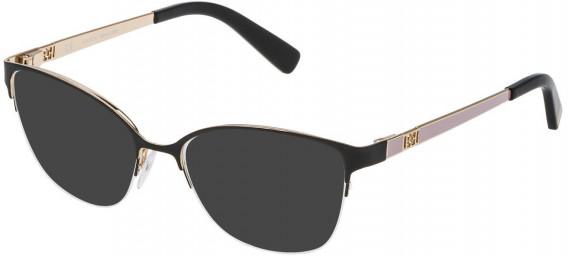 Escada VES921 sunglasses in Rose Gold/Black