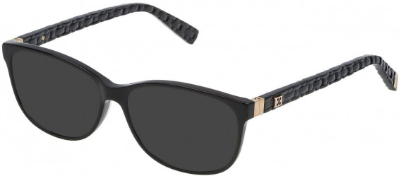 Escada VES471 sunglasses in Shiny Black
