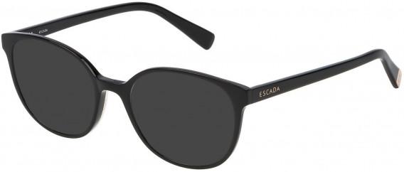 Escada VES452 sunglasses in Shiny Black