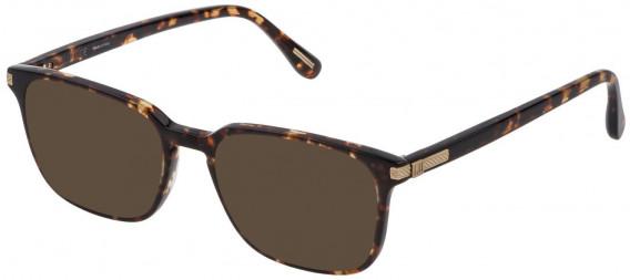 Dunhill VDH187M sunglasses in Shiny Classic Havana