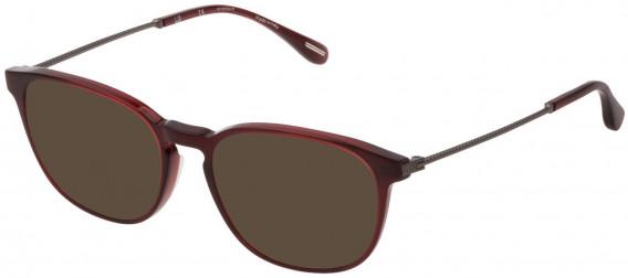 Dunhill VDH181M sunglasses in Shiny Opal Bordeaux