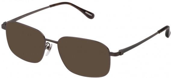 Dunhill VDH179 sunglasses in Matt Ruthenium