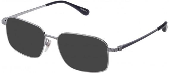 Dunhill VDH179 sunglasses in Shiny Full Palladium