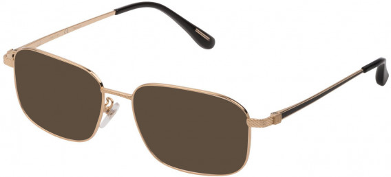 Dunhill VDH179 sunglasses in Shiny Rose Gold