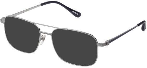Dunhill VDH178G sunglasses in Shiny Full Palladium