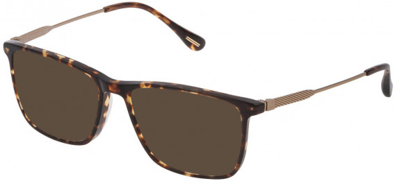 Dunhill VDH169G sunglasses in Shiny Classic Havana