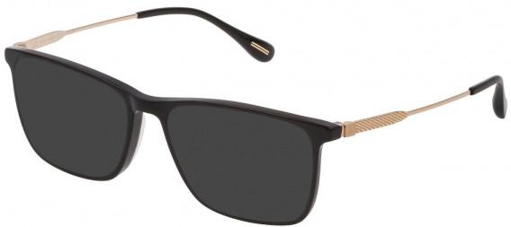 Dunhill VDH169G sunglasses in Shiny Black