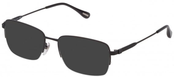 Dunhill VDH168G sunglasses in Matt Blue Indigo