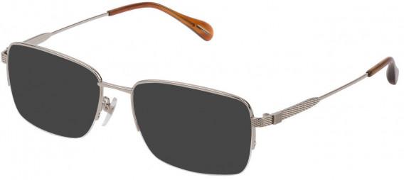 Dunhill VDH168G sunglasses in Shiny Full Palladium