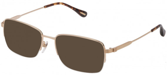 Dunhill VDH168G sunglasses in Shiny Rose Gold