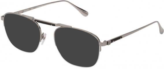 Dunhill VDH166M sunglasses in Shiny Full Palladium