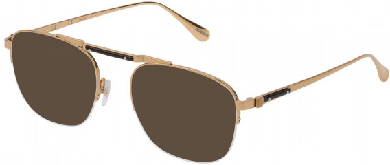 Dunhill VDH166M sunglasses in Shiny Rose Gold