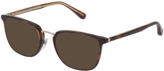 Dunhill VDH163 sunglasses in Shiny Dark Havana