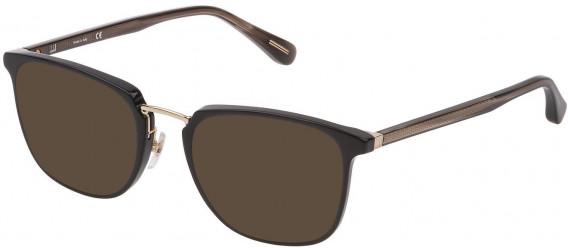 Dunhill VDH163 sunglasses in Shiny Black