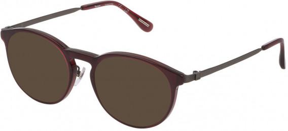 Dunhill VDH160G sunglasses in Shiny Opal Bordeaux